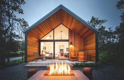 kuono cabin hawaii exterior back porch