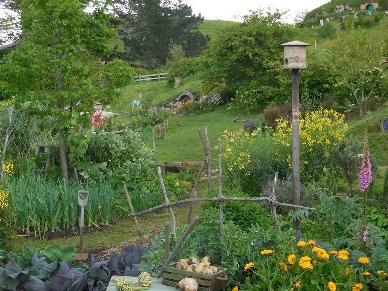 Hobbiton Garden