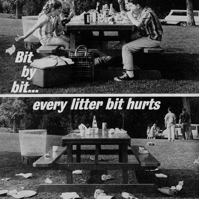 Every litter bit hurts