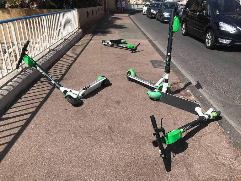 Scooters in Marseille