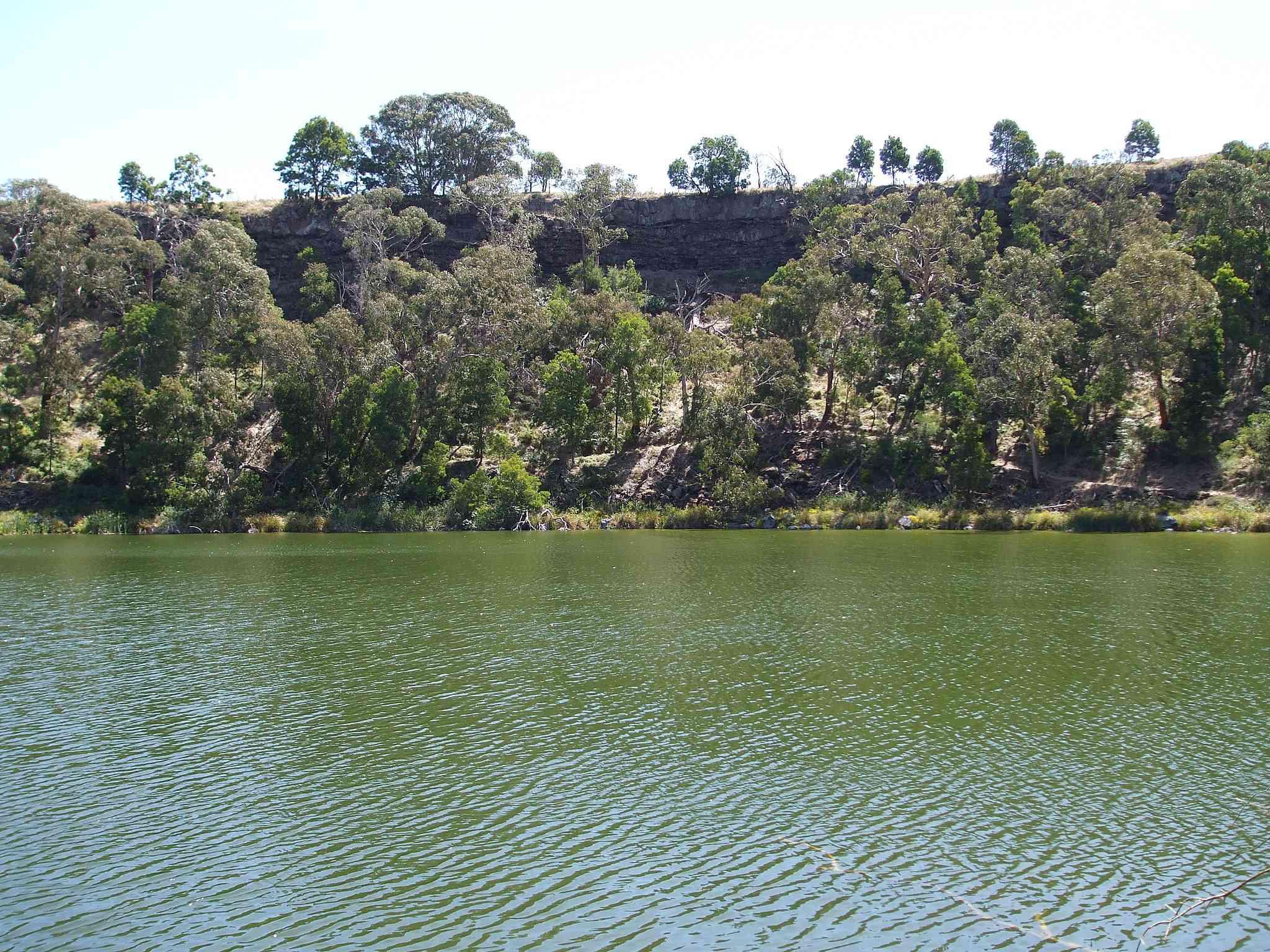 Lake Surprise, Budj Bim ‐ Mt Eccles National Park, Victoria, Australia