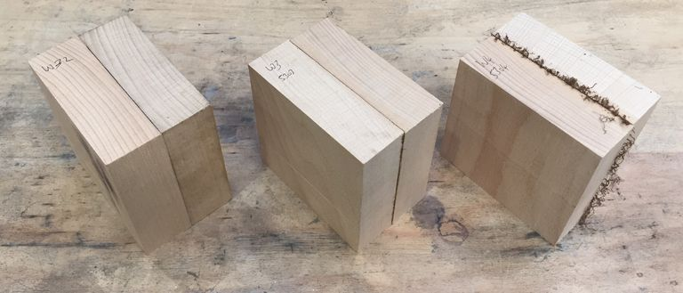 welded wood