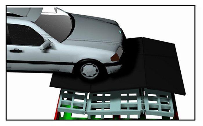 Kinetic generator car