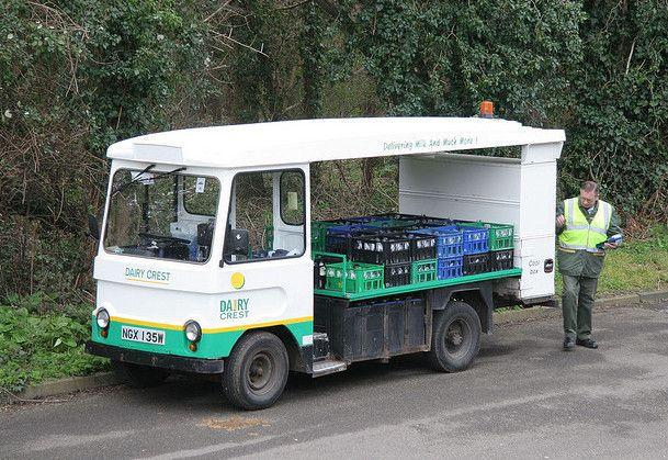 electric milk trucks
