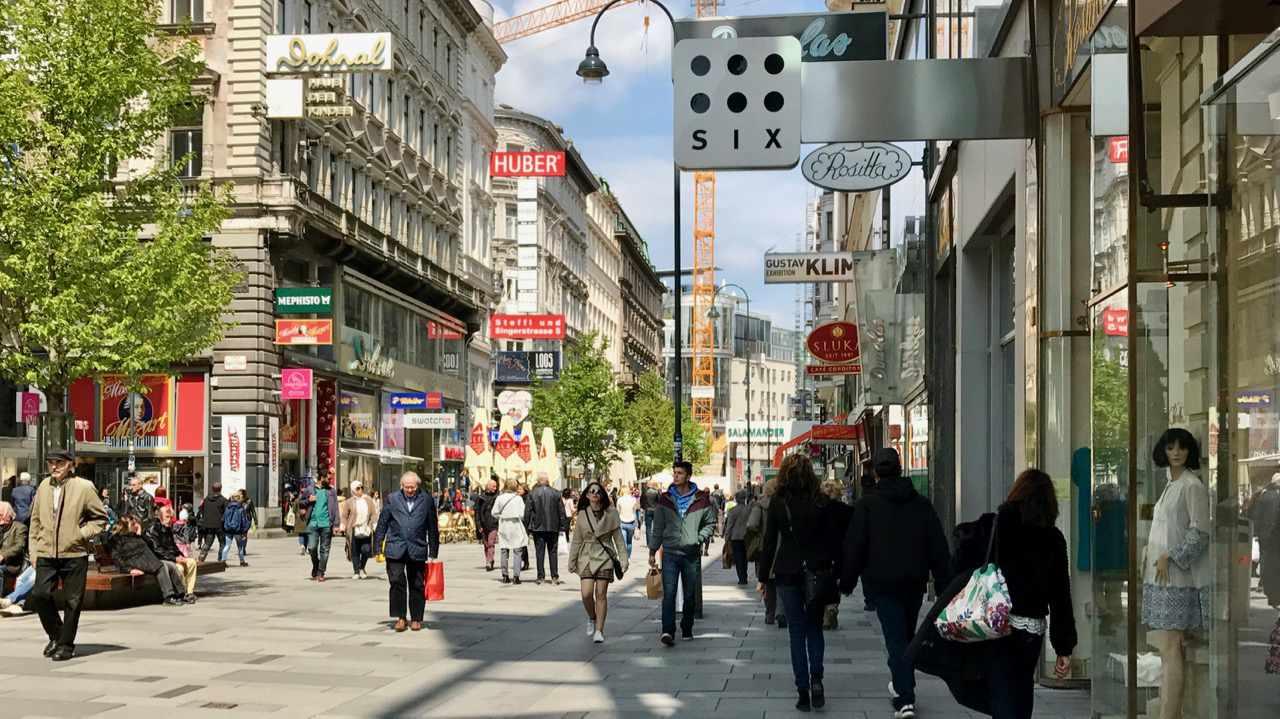 Walking in Vienna