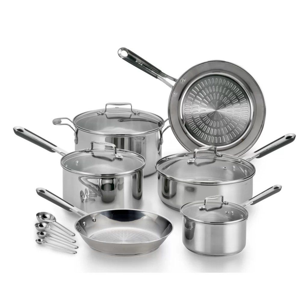 T-Fal PerformaPro Stainless Steel 14pc Set