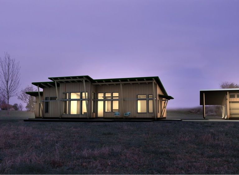 El nuevo Flatpack de Unity Homes puede ser el prefabricado más ecológico del mercado