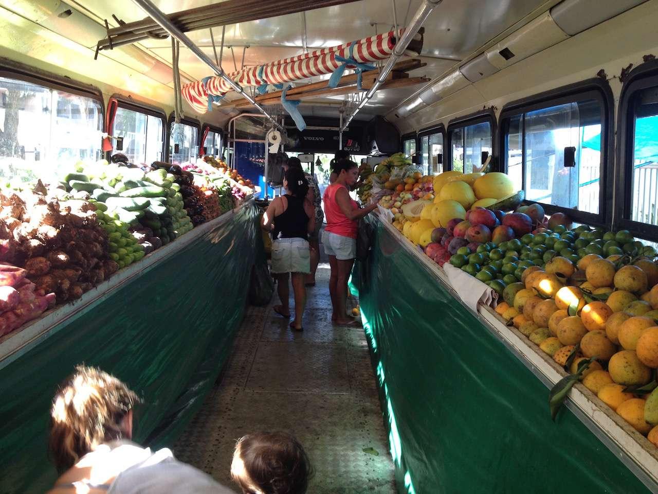 Fruit bus in Rio