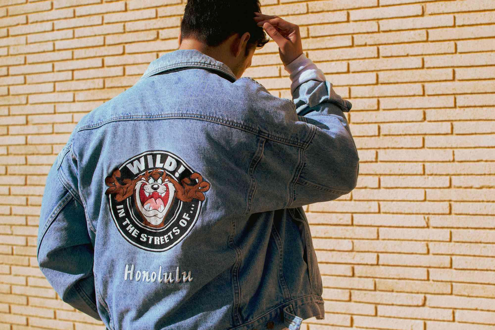 Nordstrom jacket back view
