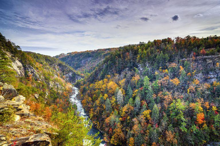 Tallulah Gorge in Georgia