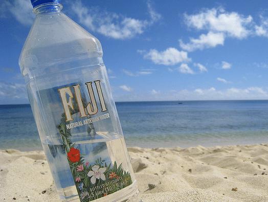 Fiji bottled water photo