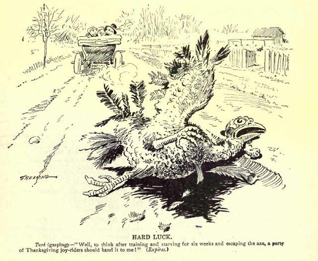 early motoring cartoon