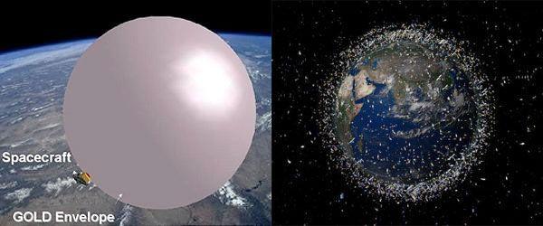 space junk concept image