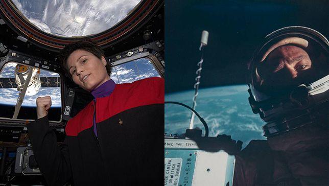 Selfies en el espacio: 8 autorretratos épicos tomados por astronautas