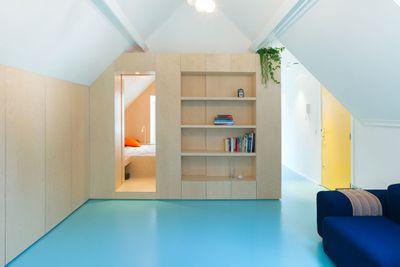 Amsterdam Urban Loft by Bureau Fraai living room