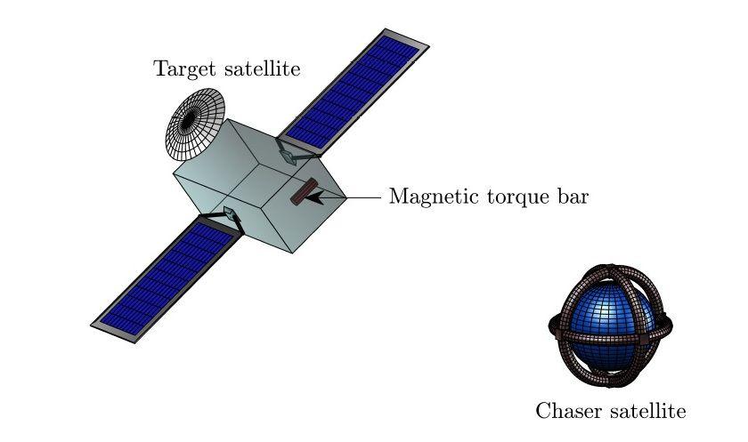 magnetic space tug illustration