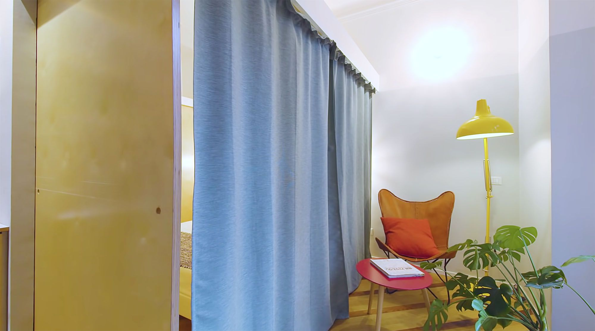 House In Constant Transition small apartment renovation ATOMAA reading nook