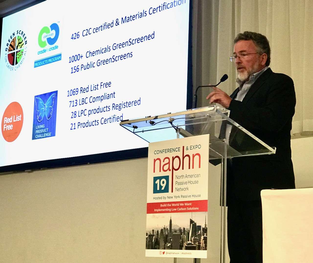 Bill Walsh speaking at NAHPN conference