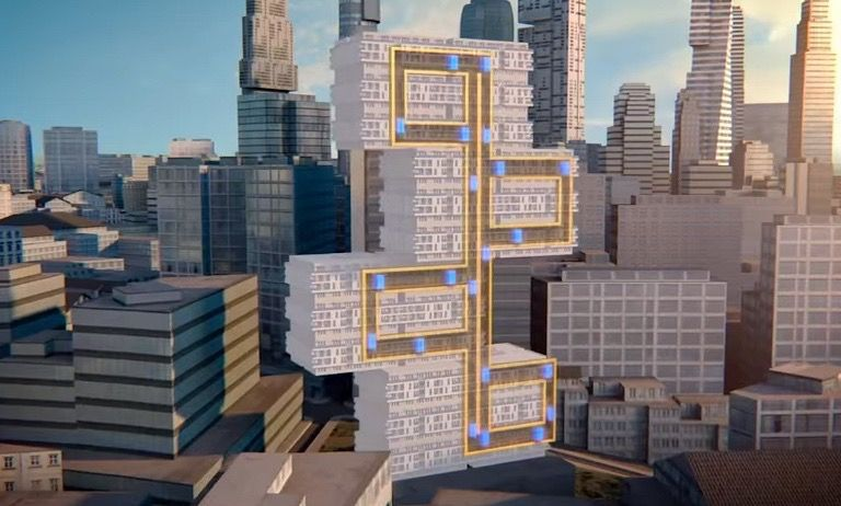 silly building design