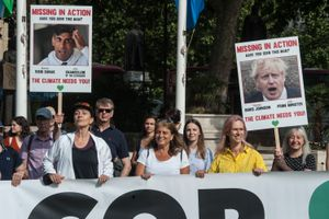 Politicians missing in action 100 days before COP26
