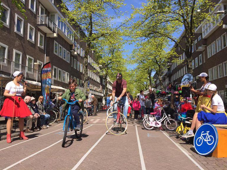 El ciclismo lento es en realidad un deporte competitivo