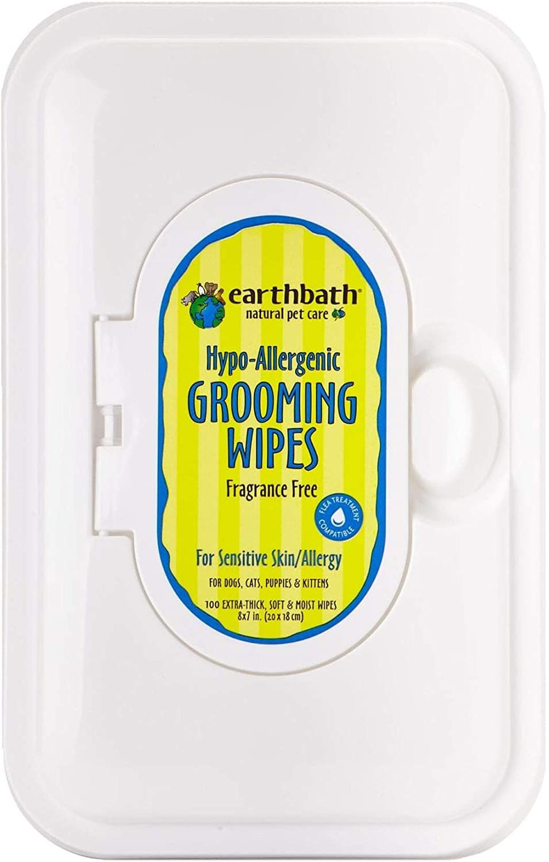 Earthbath Grooming Wipes