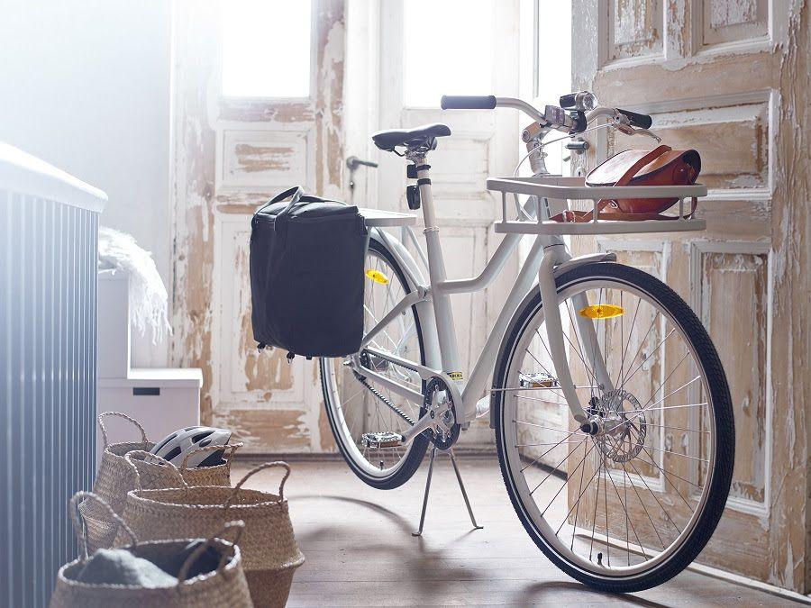 SLADDA, a versatile and lightweight city bike from IKEA
