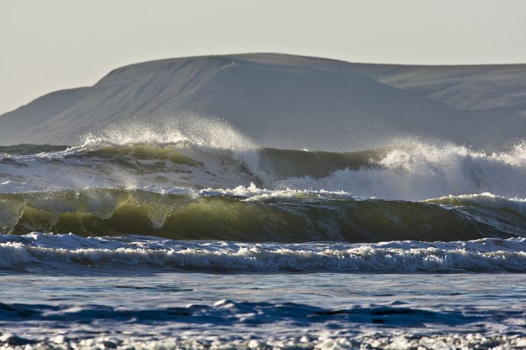 morro bay wave photo