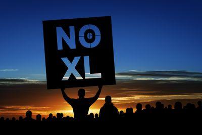 XXXL keystone pipeline protestors