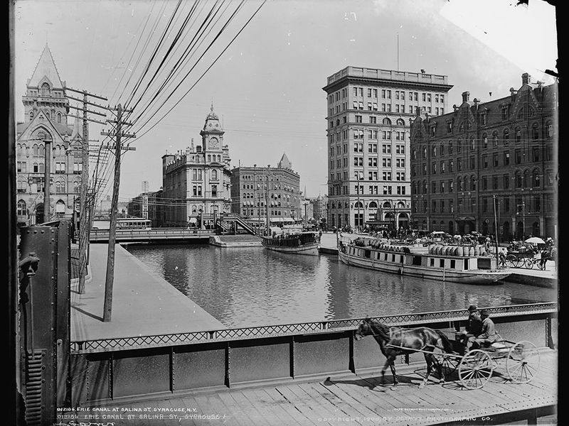 Erie Canal at Syracuse
