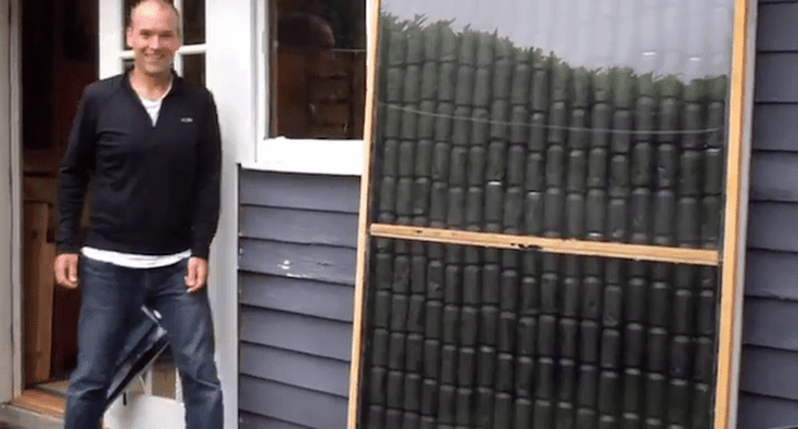 Diy Solar Air Heater From Old Soda Cans