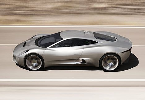 jaguar Cx75 photo