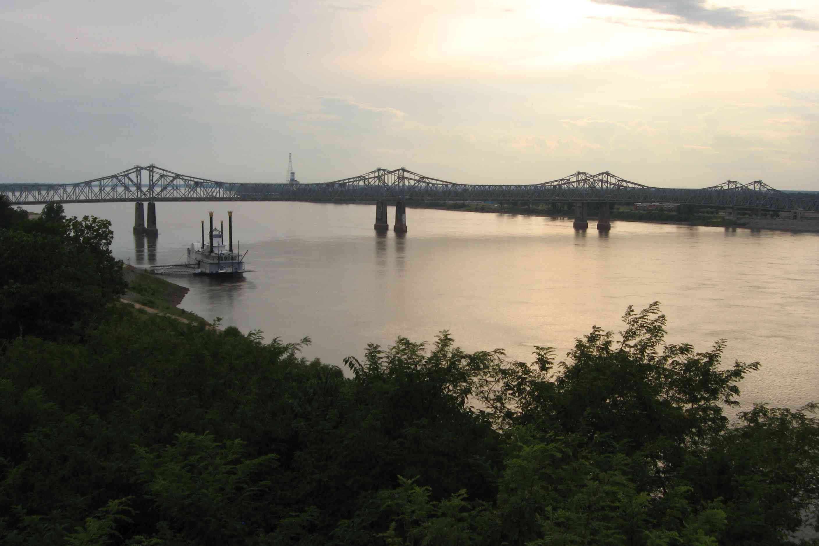 The Mississippi River in North America