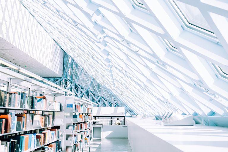 Los estadounidenses todavía aman las bibliotecas
