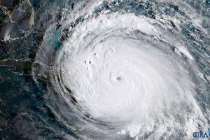 Satellite image of Hurricane Irma