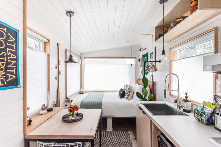 tiny house 2 for rent interior