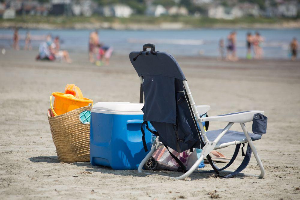 beach chair cooler