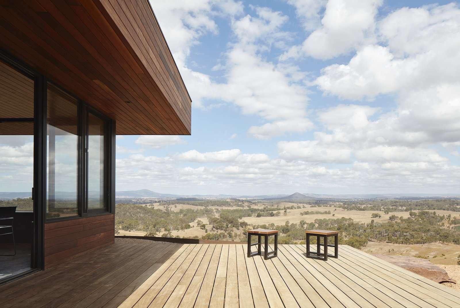 Elemental House by Ben Callery Architects decks