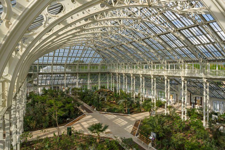 El invernadero victoriano más grande del mundo reabre sus puertas