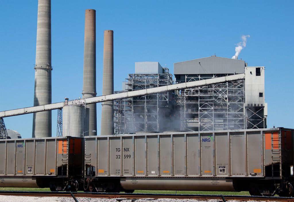 The W. A. Parish Power Plant in Texas is one of the largest coal-fired power plants in the United States.