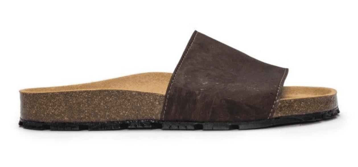 Nae Vegan Shoes Bay Cork Slipper Vegan Sandals