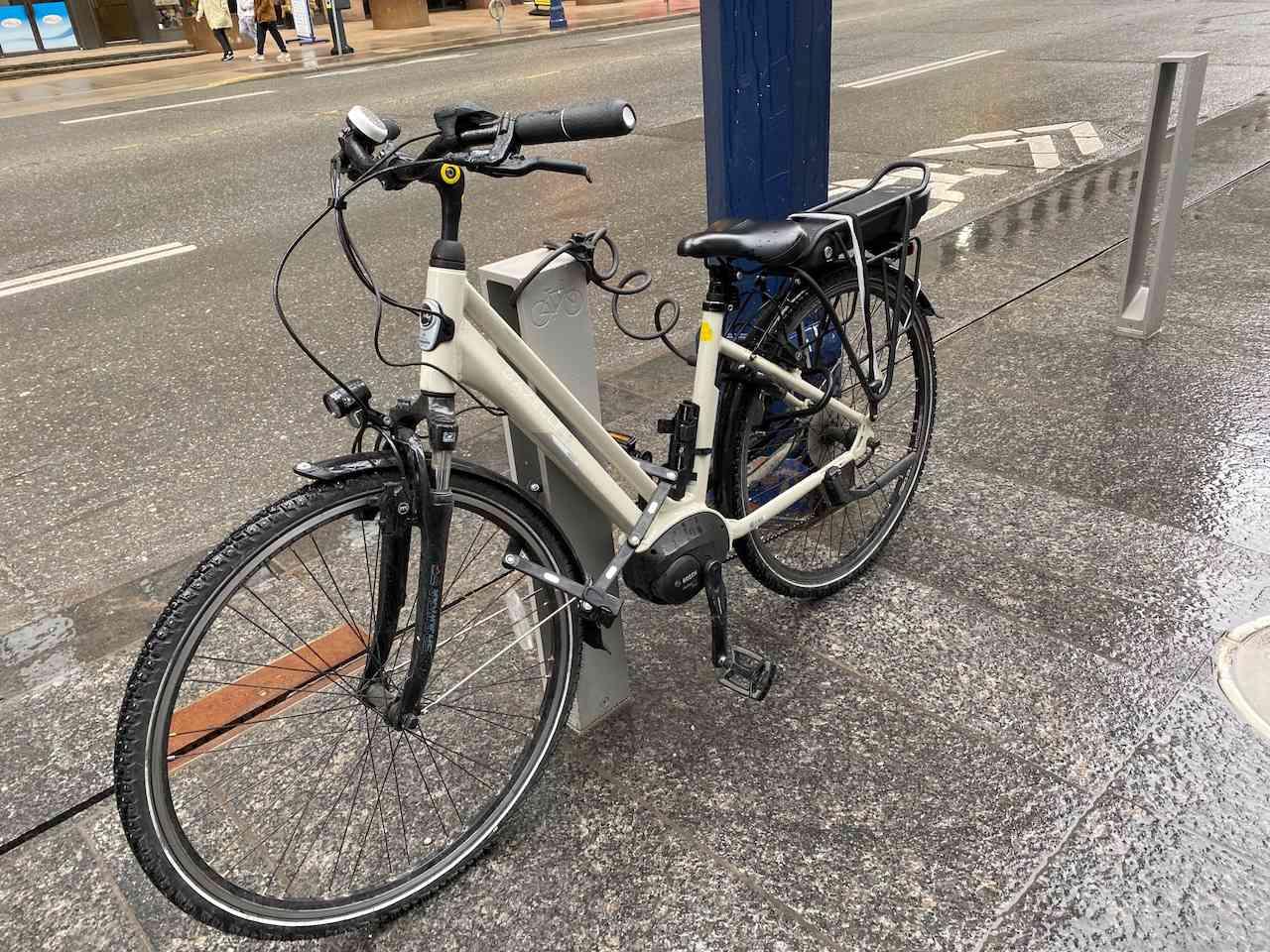 My bike with 3 locks