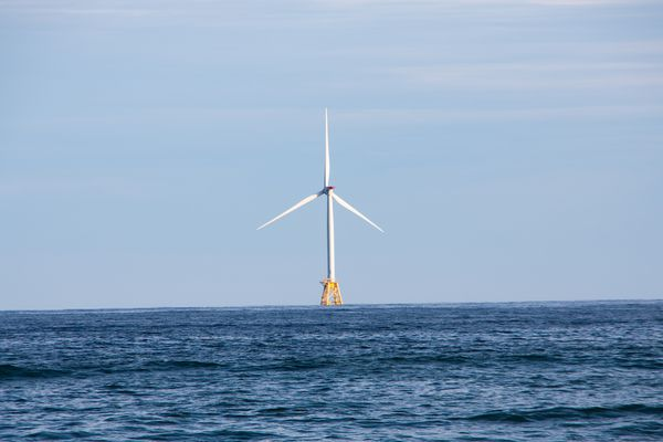 Block Island Wind Farm is the first commercial offshore wind farm in the US. It was built from 2015-2016 and consists of five turbines.