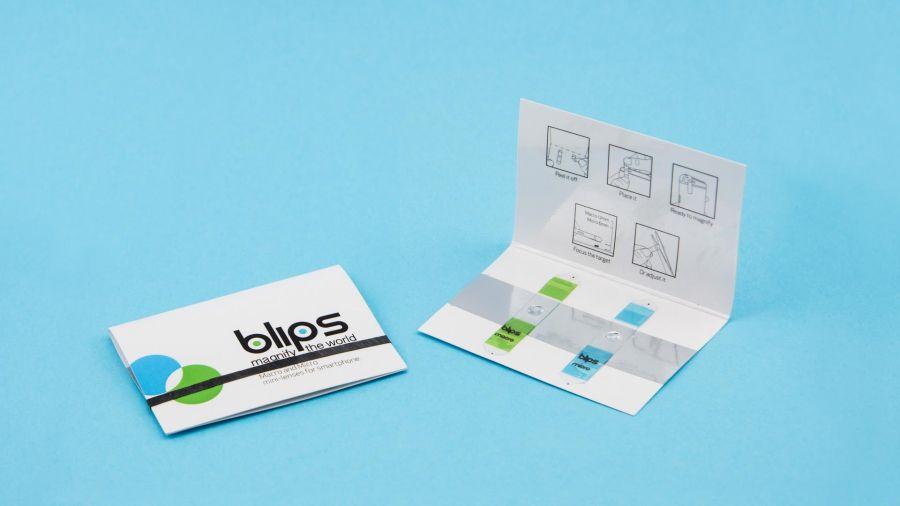 Blips microscope smartphone lens