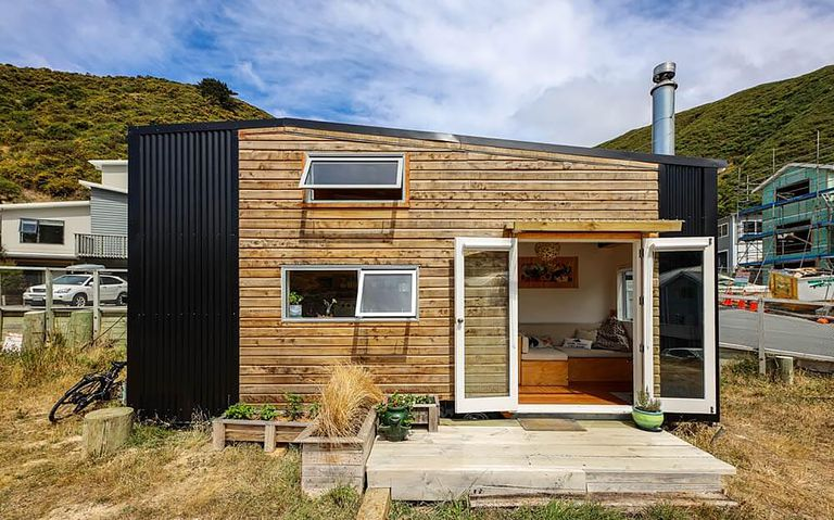 tiny house with movie loft Living Big In A Tiny House exterior