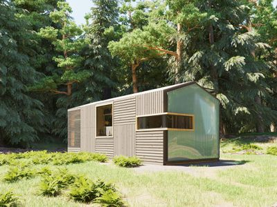 HOM3 modular cabin system JaK Studio exterior