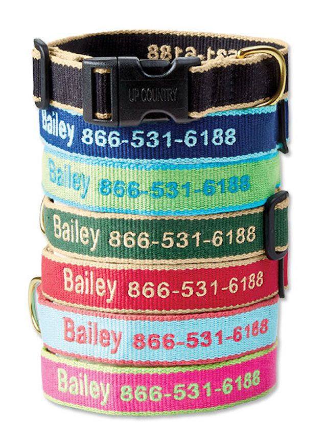 Orvis Personalized Bamboo Collar