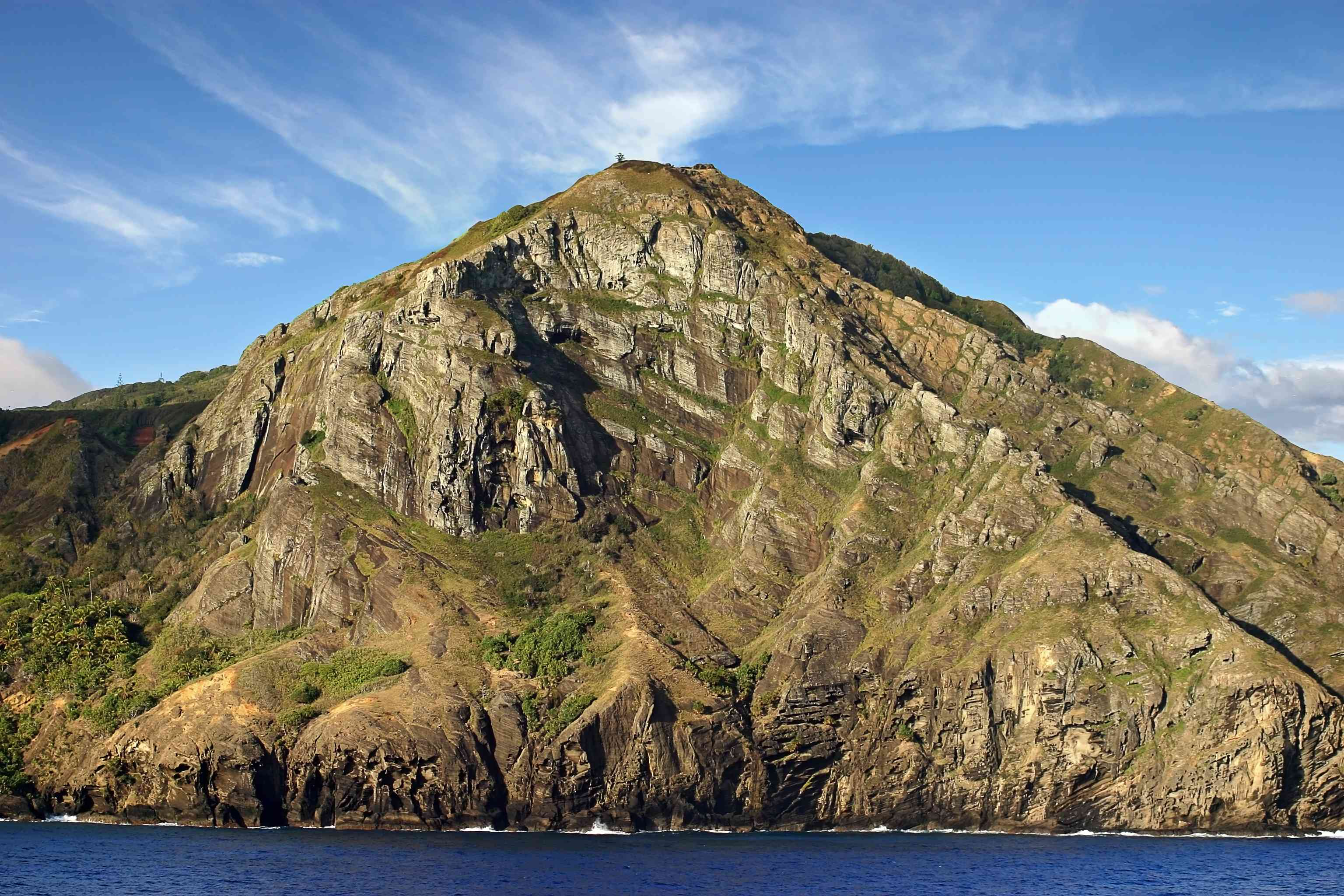 Pitcairn Island is a volcanic island and the last British Overseas Territories in the Pacific ocean