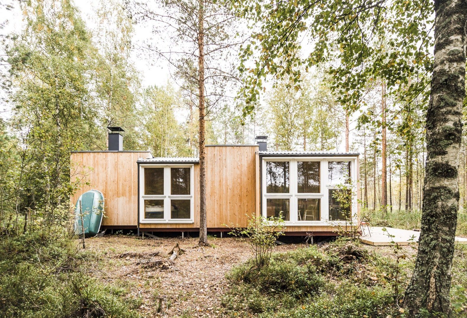 Thoughtful Tiny House in the Woods Cost Under $14K to Build