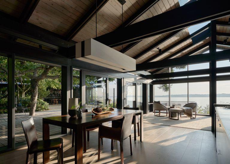 Loom House interior